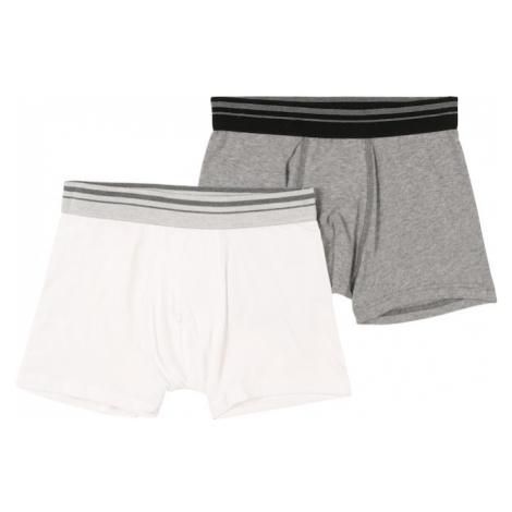 SANETTA Spodní prádlo bílá / šedý melír Sanetta Kidswear