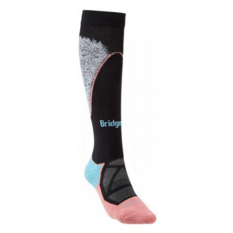 Dámské ponožky Bridgedale Ski Midweight black/coral/227