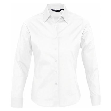 SOĽS Dámská košile EDEN 17015102 Bílá SOL'S