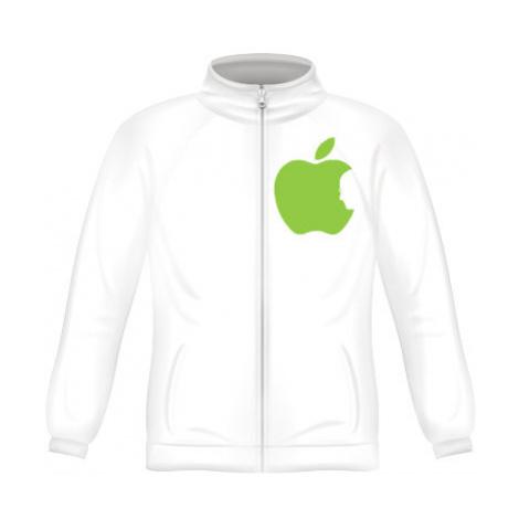 Pánská mikina zip FRUIT Apple Jobs