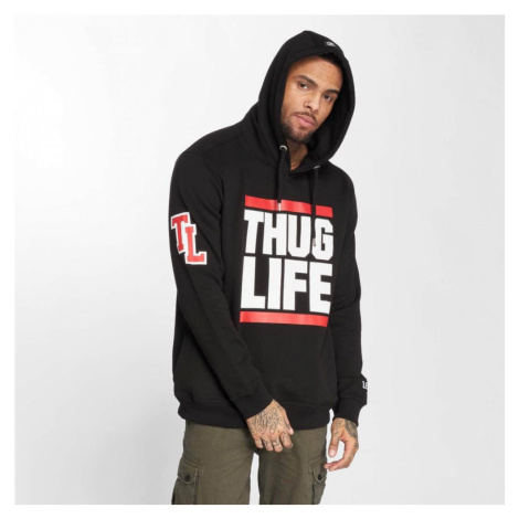 Thug Life / Hoodie B.Fight in black