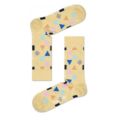 Happy Socks Play žluté PLA01-2000