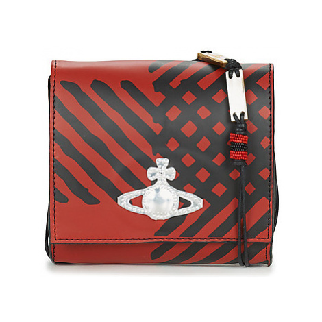 Vivienne Westwood LEATHER CROSSBODY Červená