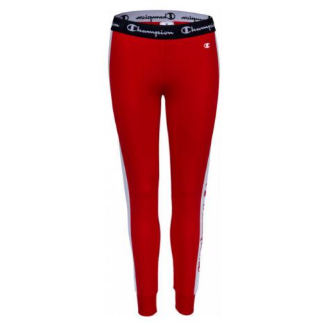 Champion SLIM PANTS červená - Dámské tepláky