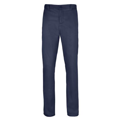 SOĽS Pánské saténové kalhoty JARED MEN 02917319 Námořní modrá SOL'S
