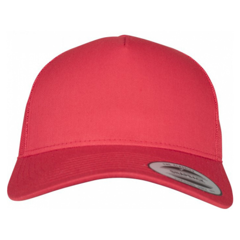 5-Panel Retro Trucker Cap - red Urban Classics
