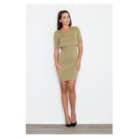 Denní šaty model 111515 Figl