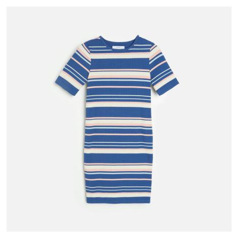 Reserved - Pleteninové šaty - Tmavomodrá