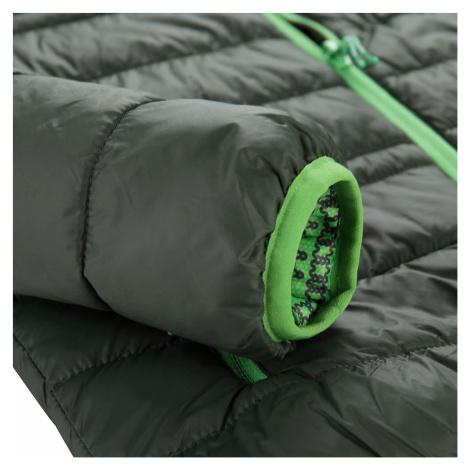Dětská hi-therm bunda Alpine Pro IDIKO - tmavě zelená