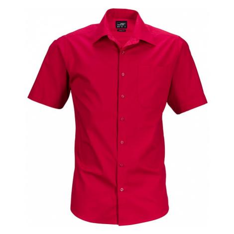 James & Nicholson Pánská košile s krátkým rukávem JN644
