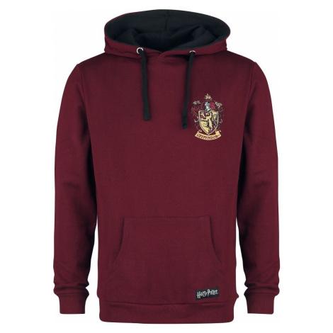 Harry Potter Gryffindor mikina s kapucí burgundská červeň