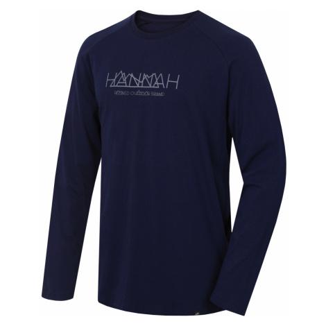 HANNAH BANTAM Pánské triko dlouhý rukáv 10005189HHX01 Black iris