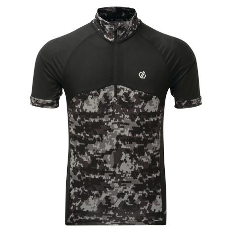 Pánský cyklistický dres Dare2b STAY THE COURSE černá Dare 2b