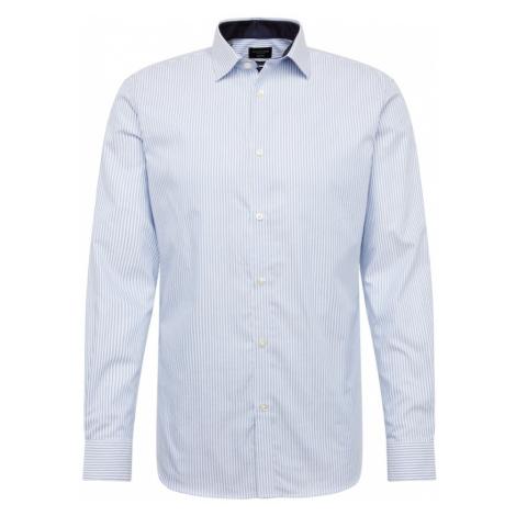 SELECTED HOMME Společenská košile světlemodrá / bílá