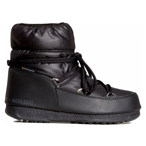 Boty Moon Boot LOW NYLON WP 2 černá