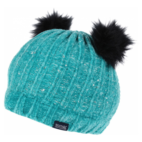 Dětská zimní čepice Regatta HEDY LUX II modrá