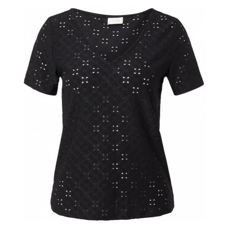 VILA Tričko 'TRESSY' černá