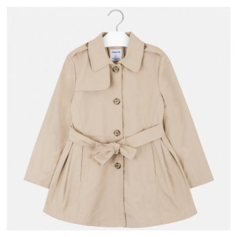 Dívčí kabát Mayoral - trech cot 6464 | hnědá