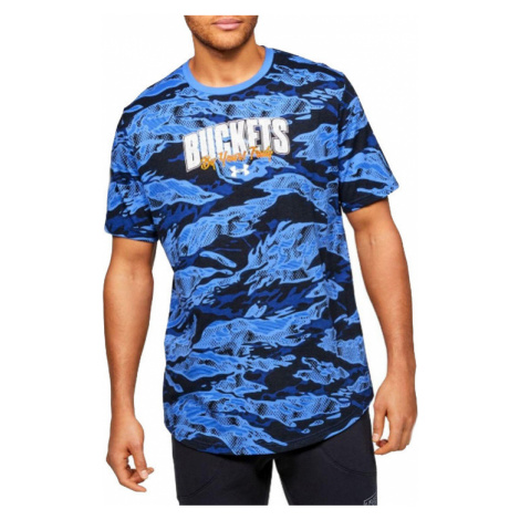 UNDER ARMOUR BASELINE VERBIAGE TEE 1351295-486