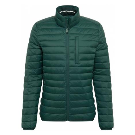 ESPRIT Přechodná bunda tmavě zelená
