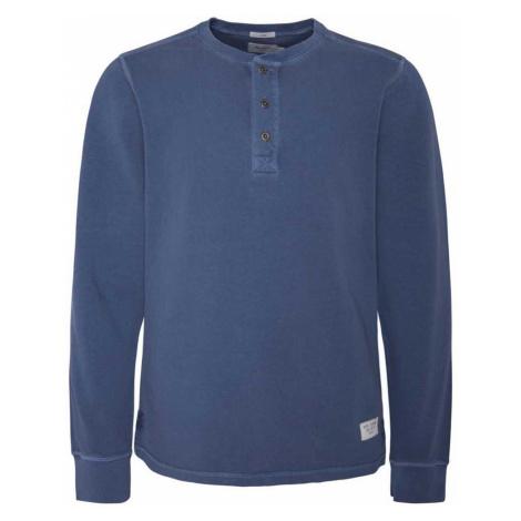 Pepe Jeans Pepe Jeans pánské tmavě modré tričko s dlouhým rukávem