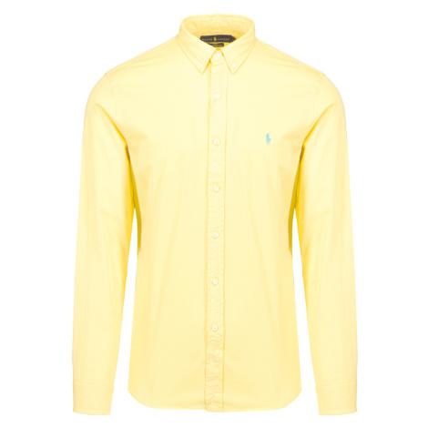 Košile Polo Ralph Lauren SLBDPPCS Żółty