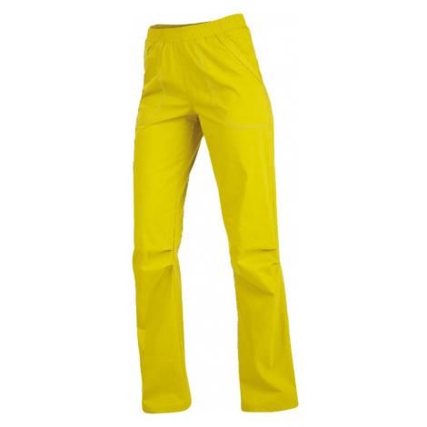 LITEX Kalhoty dámské dlouhé do pasu. 99584104 žlutozelená