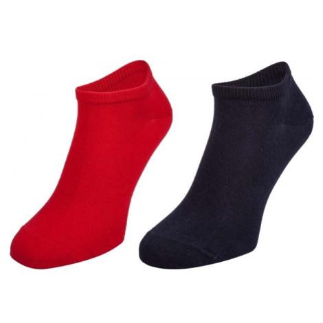 Tommy Hilfiger MEN SNEAKER 2P červená - Pánské ponožky