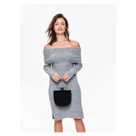 Top Secret Šaty dámské svetrové s dlouhým rukávem