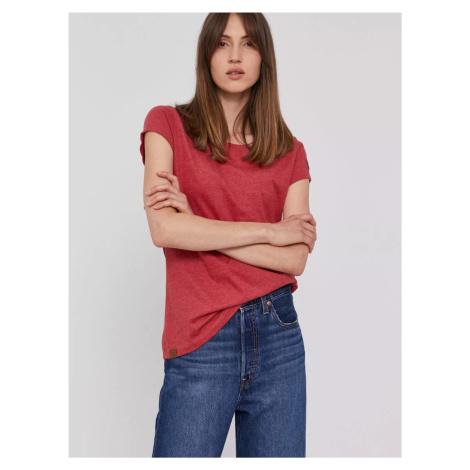Pepe Jeans dámské červené tričko RAGY