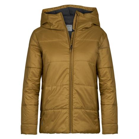 Dámské bunda ICEBREAKER Wmns Collingwood Hooded Jacket, CURRY Icebreaker Merino