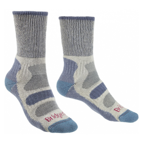 Ponožky Bridgedale Hike Lightweight Boot Cotton Cool Comfort Women's smoky blue/424