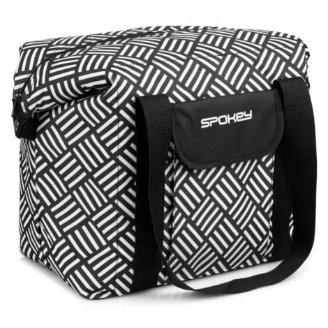 Spokey SAN REMO Plážová termo taška, černo-bílá, 52 x 20 x 40 cm