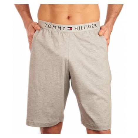Tommy Hilfiger Pánské pyžamové kraťasy Short UM0UM01203-004 Grey Heather