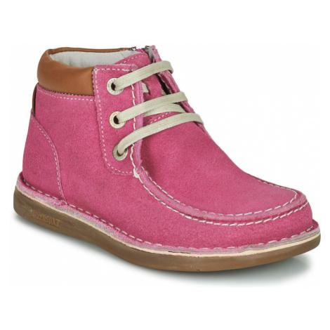 Birkenstock PASADENA HIGH KIDS Růžová