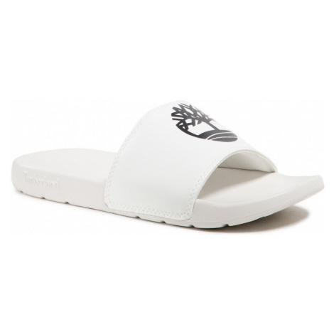 Timberland Timberland unisex bílé pantofle PLAYA SANDS