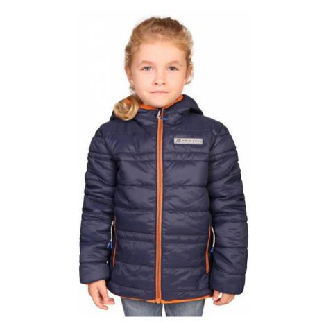 Dětská zimní oboustranná bunda Alpine Pro SELMO - tmavě modrá