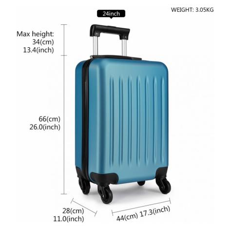 Modrý cestovní kvalitní set kufrů 3v1 Bartie Lulu Bags
