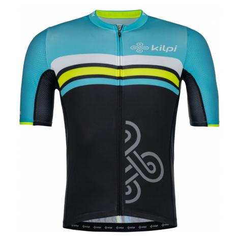Pánský týmový cyklistický dres KILPI CORRIDOR-M světle modrá
