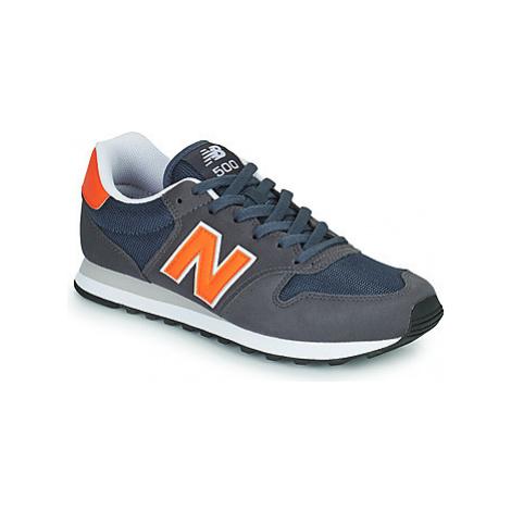 New Balance 500 Modrá