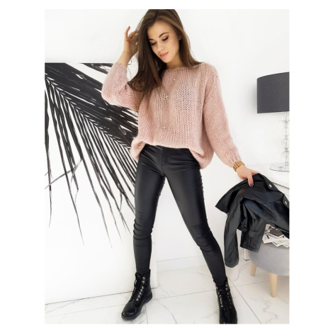 HADESA women's sweater pink MY0841 DStreet
