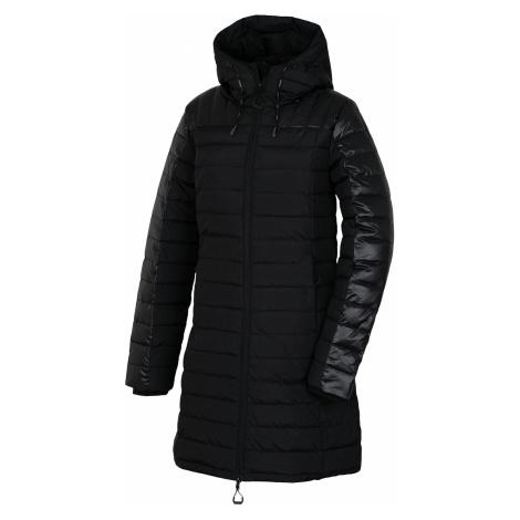Husky Daili L, černá Dámský péřový kabátek