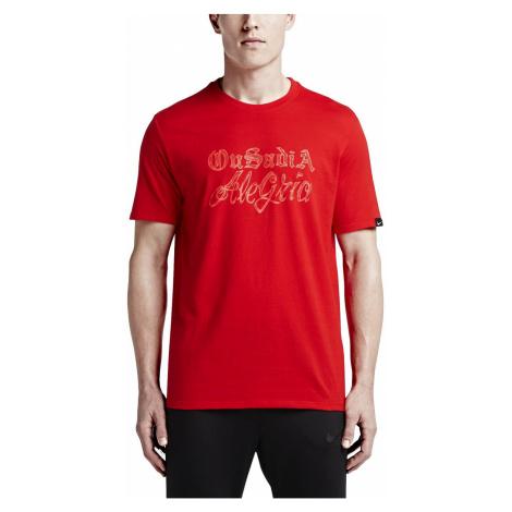 Tričko Nike NEYMAR VERBIAGE TEE Červená
