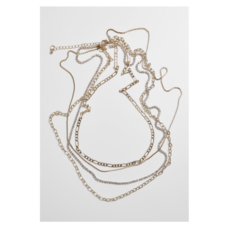 Valeria Layering Necklace - gold Urban Classics
