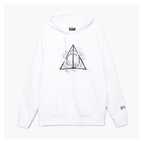 Cropp - Mikina s kapucí Harry Potter - Bílá