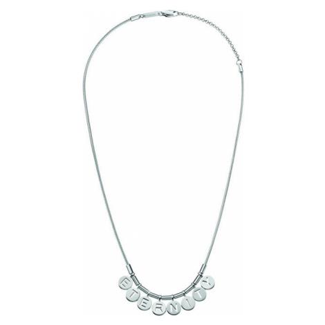 Calvin Klein Ocelový náhrdelník Note Eternity KJ6MMN000200