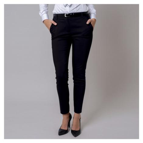 Černé dámské společenské kalhoty 10140 Willsoor
