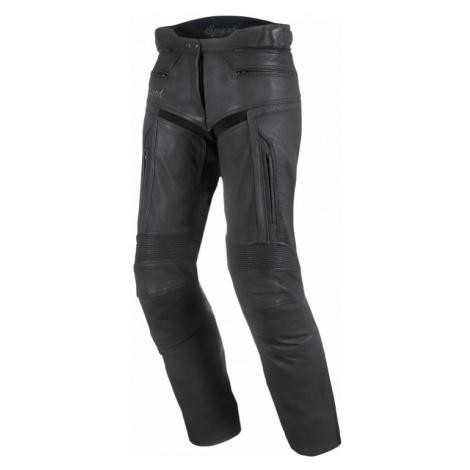 Dámské Kožené Moto Kalhoty Spark Virginia Černá