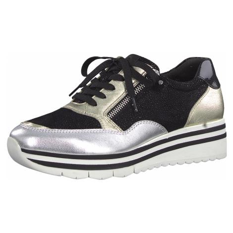 1-23707-24 Dámské boty 098 černá Tamaris