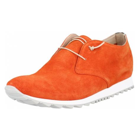 Donna Carolina Šněrovací boty oranžová